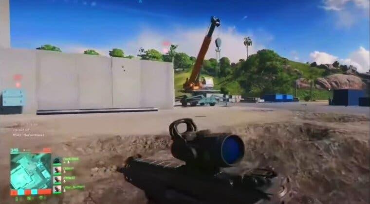 Imagen de Battlefield 2042 filtra más de 30 minutos de gameplay por su beta técnica