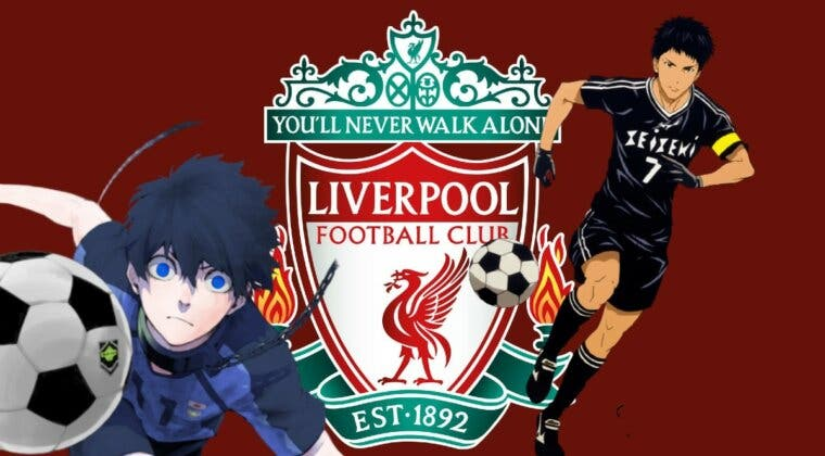 Imagen de Blue Lock, Days; el Liverpool colabora con varios mangas de fútbol de gran éxito