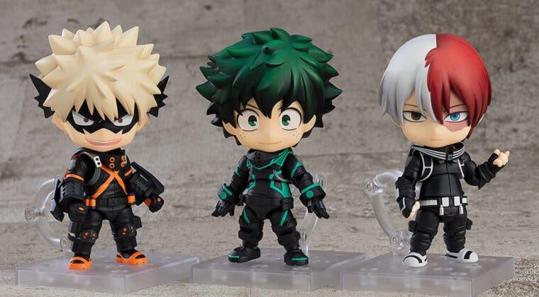 Imagen de Boku no Hero Academia anuncia tres nuevos Nendoroid de Deku, Bakugo y Todoroki