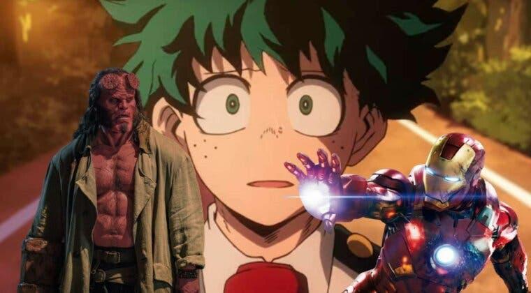 Imagen de Así son los guiños de Boku no Hero Academia a Hellboy y Iron Man