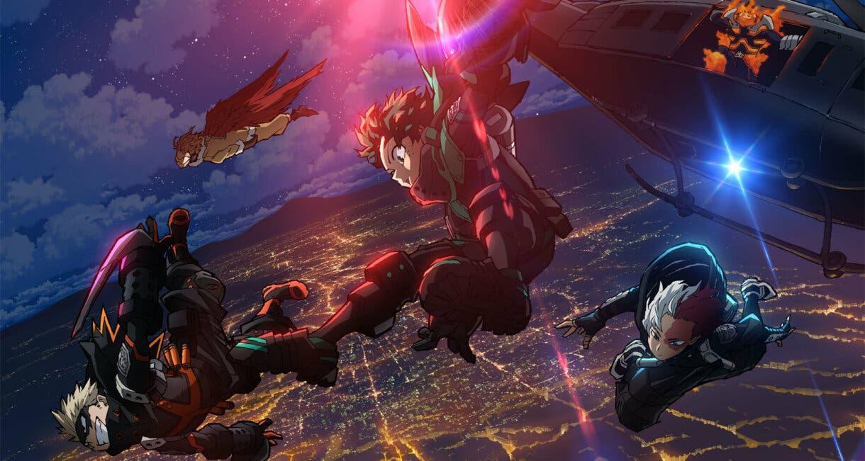 Boku no Hero Academia The Movie World Heroes' Mission occidente