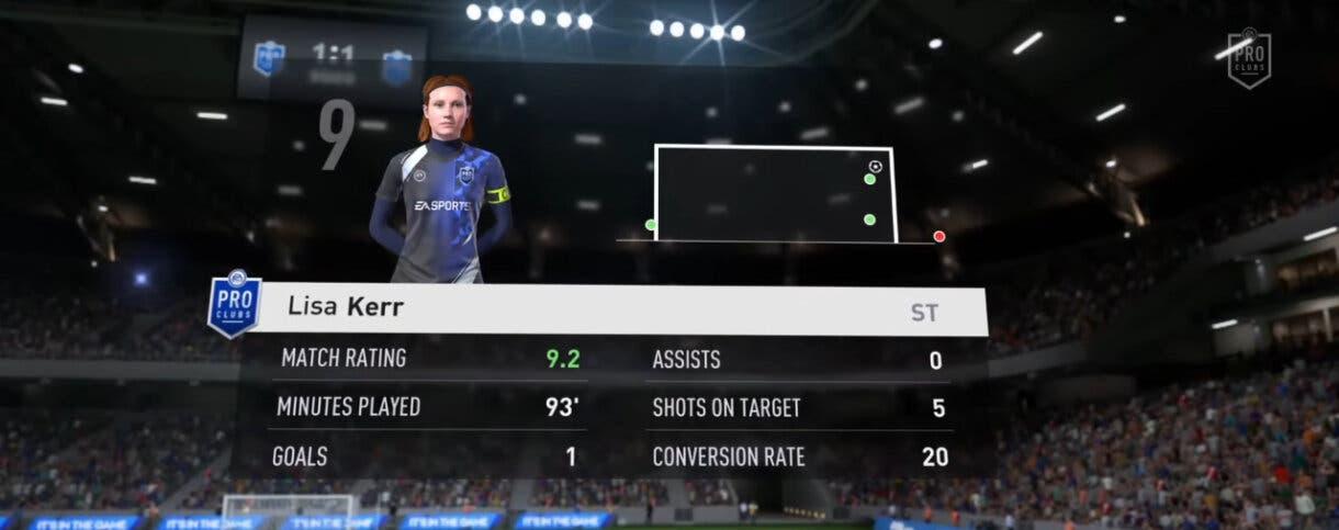 FIFA 22: primer vistazo a las novedades de Clubes Pro (personajes femeninos, sistema de progresión, nueva personalización de estadio)