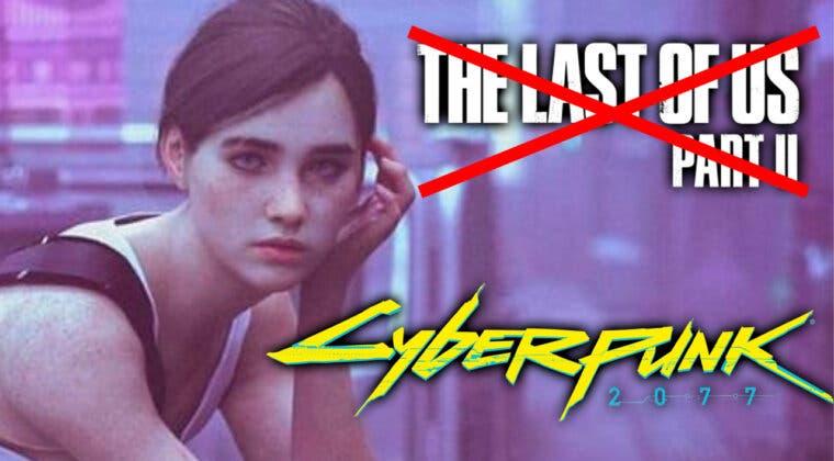Imagen de Imaginan a Ellie en el mundo de Cyberpunk 2077 y el resultado es simplemente espectacular