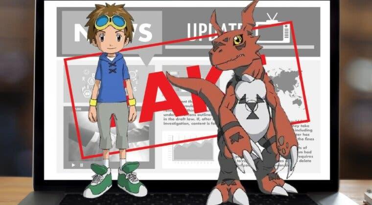 Imagen de Digimon, víctima de las teorías de la conspiración y de las fake news