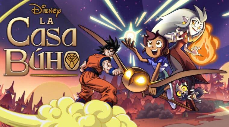 Imagen de Dragon Ball Z se cuela en el último episodio de Casa Búho, una serie de animación de Disney