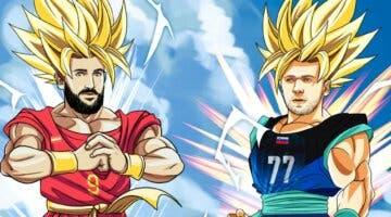 Imagen de La FIBA usa Dragon Ball Z para promocionar el partido de basket entre España y Eslovenia en los JJOO