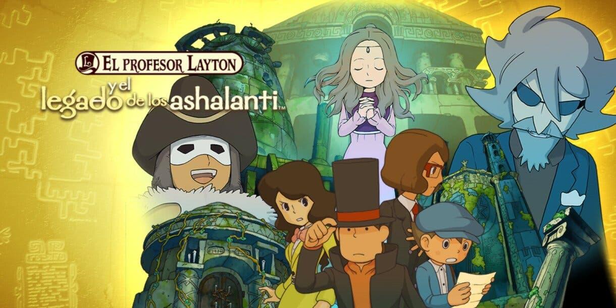 El Profesor Layton y el legado de los ashalanti