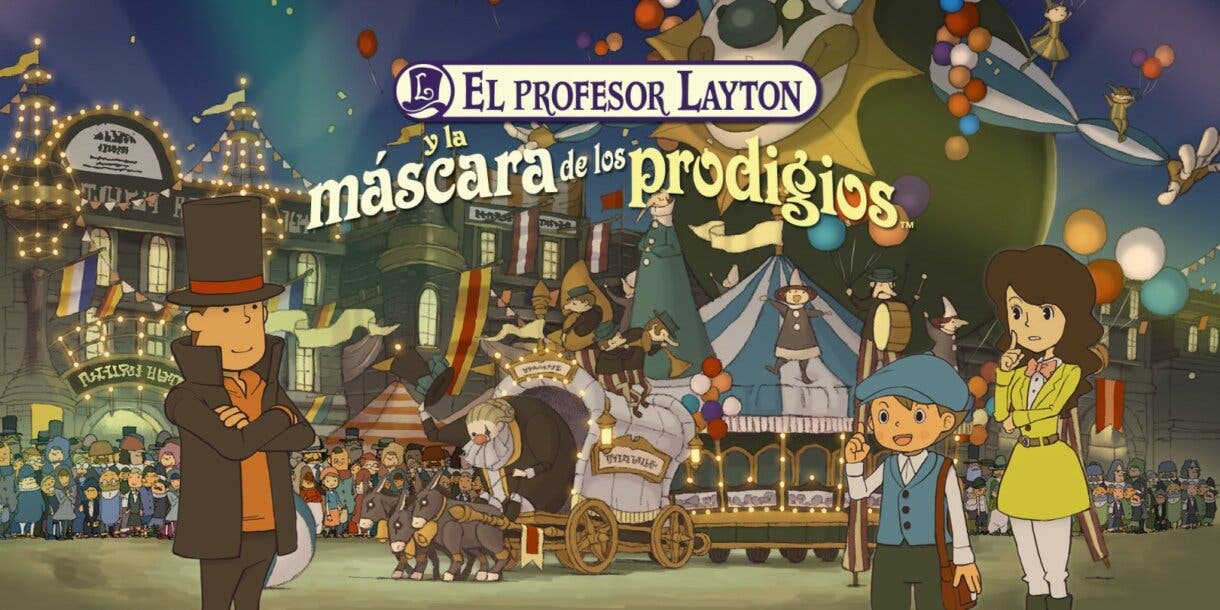 El Profesor Layton y la mascara de los prodigios