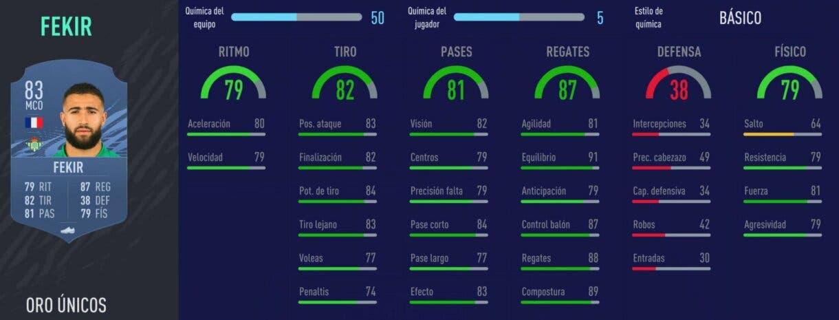 FIFA 22 medias: jugadores útiles de la Liga Santander con probabilidades de ser aún mejores (segunda parte) Ultimate Team Fekir