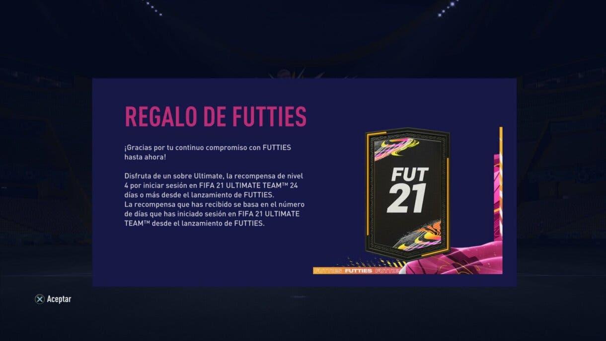 FIFA 21: ya puedes reclamar un nuevo sobre gratuito de regalo en Ultimate Team