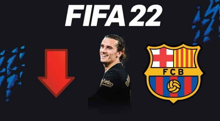 Imagen de FIFA 22 medias: jugadores del Barcelona que probablemente empeoren