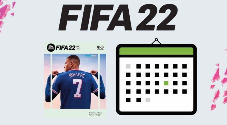 Imagen de Fechas de lanzamiento de FIFA 22 (Edición Estándar, Ultimate Edition, EA Play, Web App...)