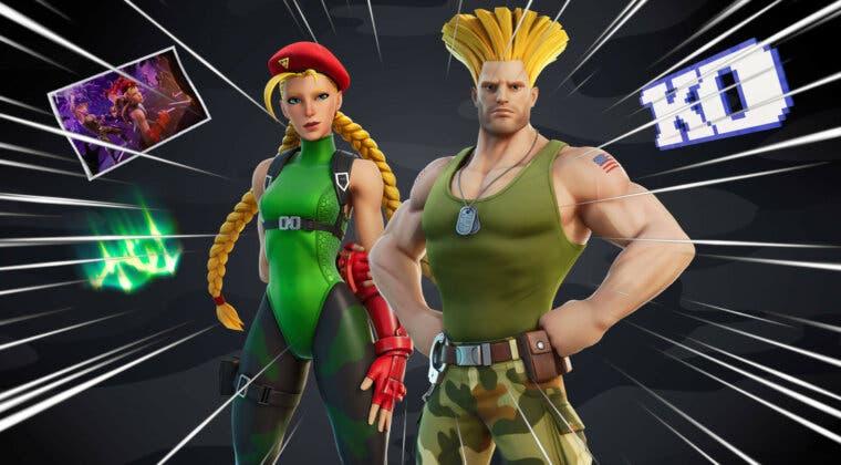 Imagen de Fortnite: fecha y cómo conseguir las nuevas skins de Cammy y Guile de Street Fighter