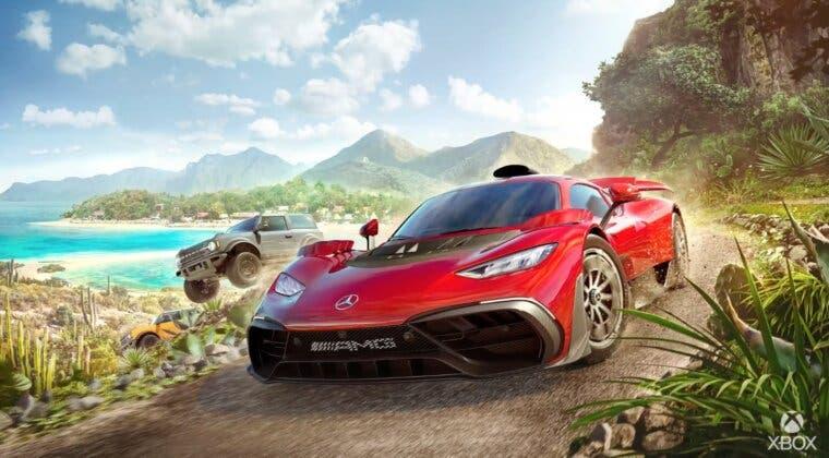 Imagen de Forza Horizon 5 muestra nuevo tráiler, coches, zonas, un mando exclusivo y carátula