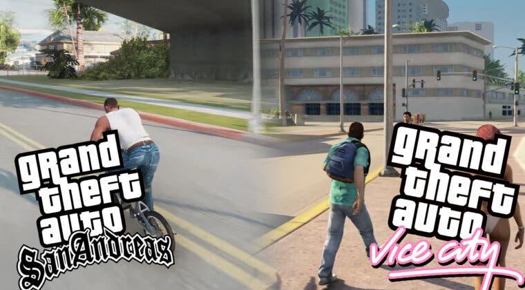 Imagen de Impresionante: la comunidad hace sus propios remakes de GTA San Andreas y Vice City