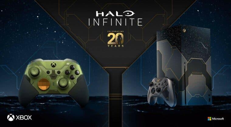 Imagen de Anunciada una nueva Xbox Series X y mando edición Halo Infinite