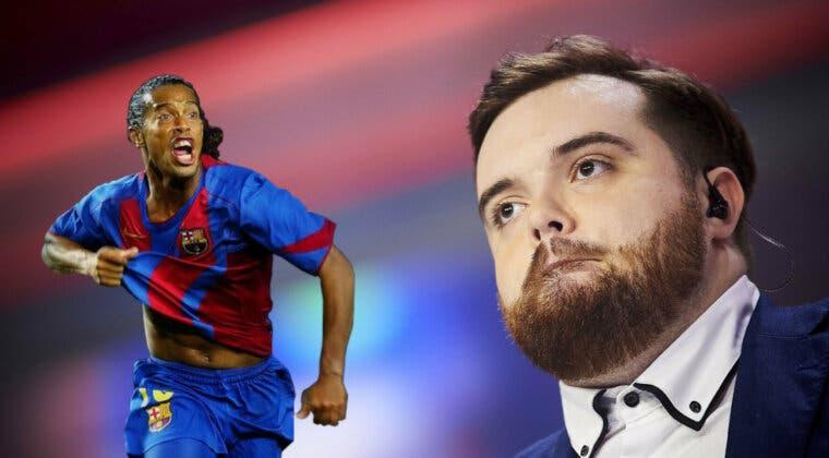 Imagen de Ronaldinho es el próximo invitado del Charlando Tranquilamente de Ibai; esta es su fecha y hora de misión