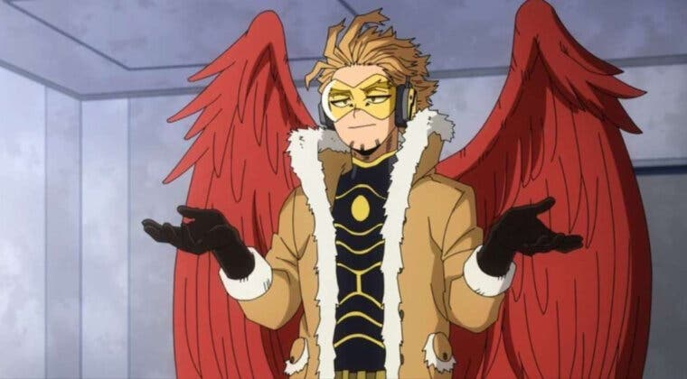 Imagen de El autor de Boku no Hero Academia pide perdón por un error en el manga con Hawks