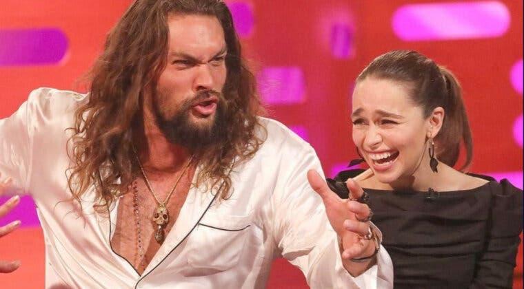 Imagen de El entrañable reencuentro de Juego de Tronos, Emilia Clarke y Jason Momoa celebran la reunión con estas graciosas imágenes