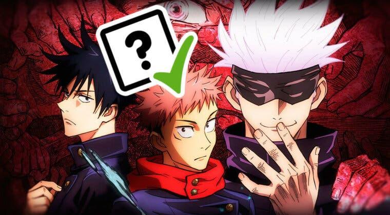 Imagen de Jujutsu Kaisen: Este test te dirá que personaje eres del famoso anime