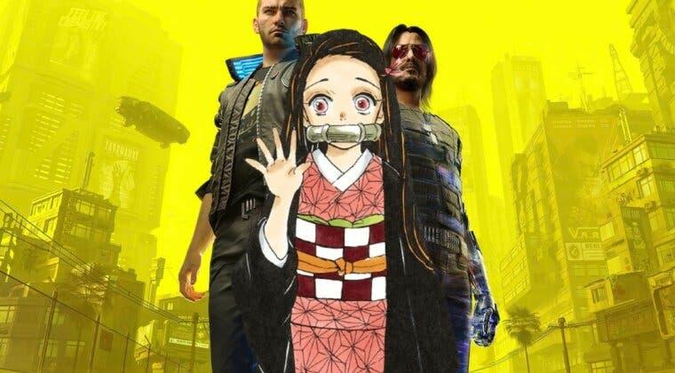 Imagen de ¿Nezuko en Cyberpunk 2077? Así es el cosplay de Kimetsu no Yaiba que no esperabas