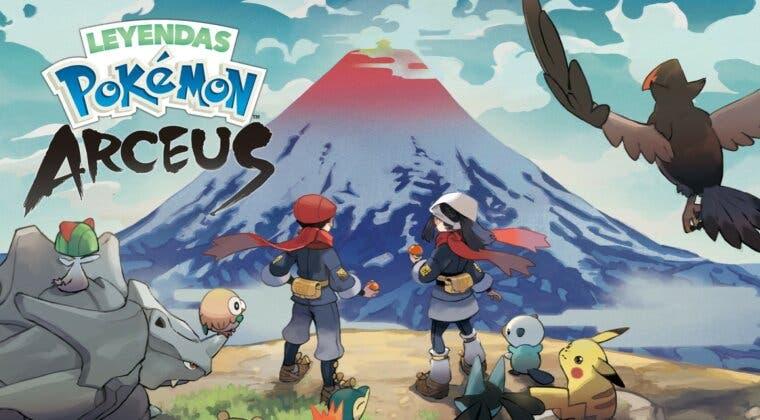 Imagen de Leyendas Pokémon: Arceus; nuevo gameplay, nuevos Pokémon y una pinta increíble
