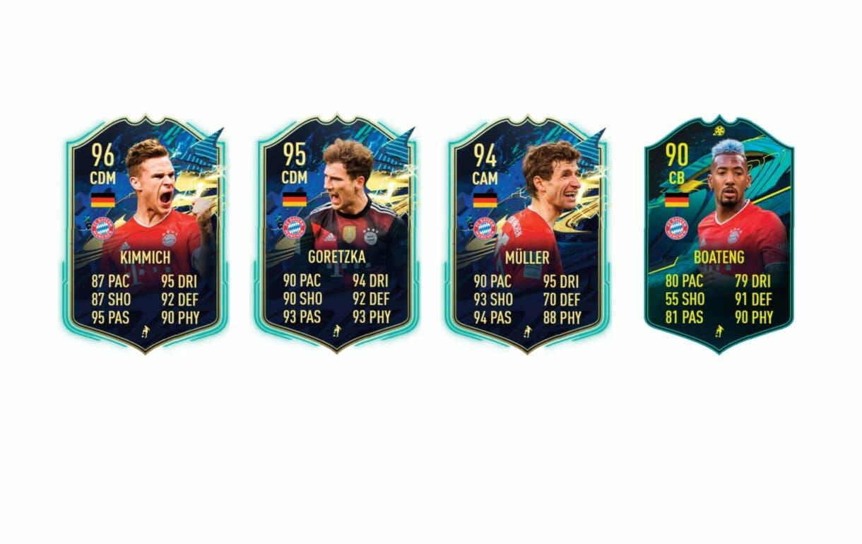 Links perfectos de Sané FUTTIES. FIFA 21 Ultimate Team