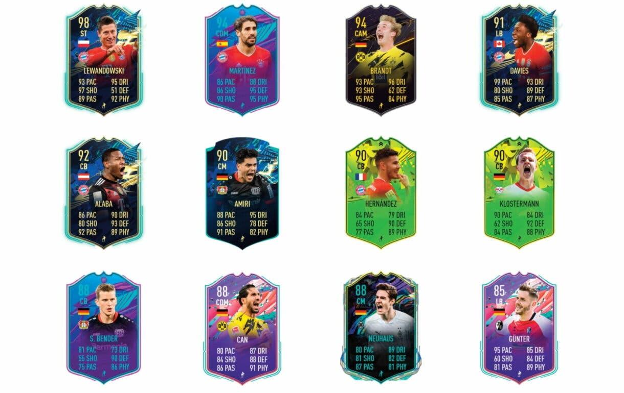 Links verdes de Sané FUTTIES. FIFA 21 Ultimate Team