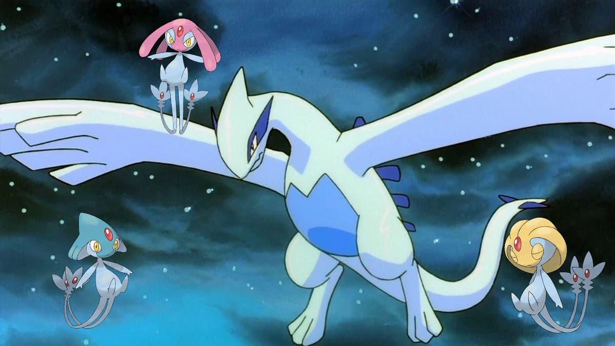Lugia Uxie Azelf Mesprit Pokemon