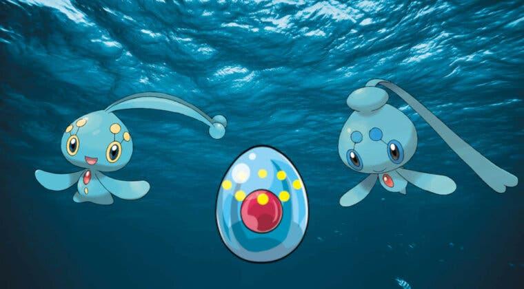 Imagen de Pokémon Diamante Brillante y Perla Reluciente: Así podrás conseguir el Huevo de Manaphy
