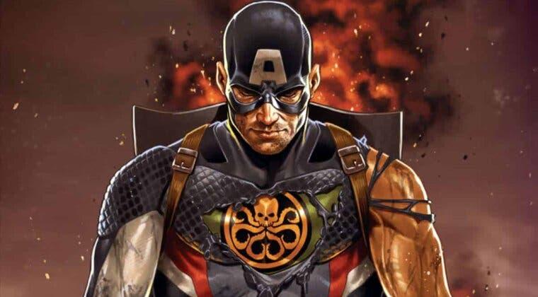Imagen de ¿Qué pasaría si...? estuvo a punto de convertir a Steve Rogers en Capitán Hydra