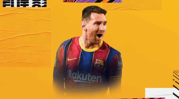Imagen de FIFA 21: filtrada nueva carta especial de Leo Messi con cinco estrellas de filigranas