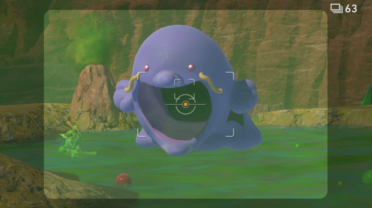 New Pokemon Snap Swalot