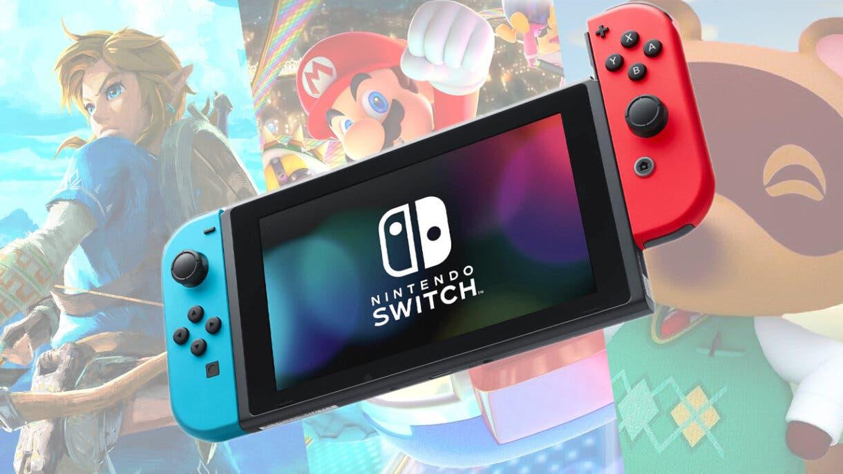 nintendo switch juegos mas vendidos