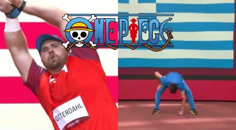 Imagen de One Piece agradece a los atletas olímpicos sus homenajes en los JJOO de Tokio 2020