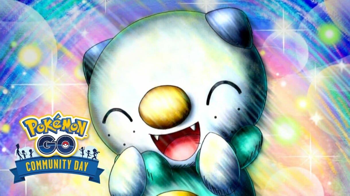 Oshawott Pokemon GO Dia de la Comunidad