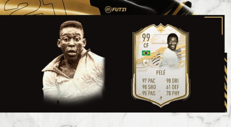 Imagen de FIFA 21: Pelé Moments Icono ya aparece en SBC... Aunque ni mucho menos es tan barato como Cruyff