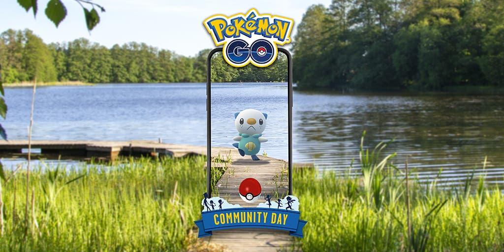 Pokemon GO Dia de la Comunidad Oshawott