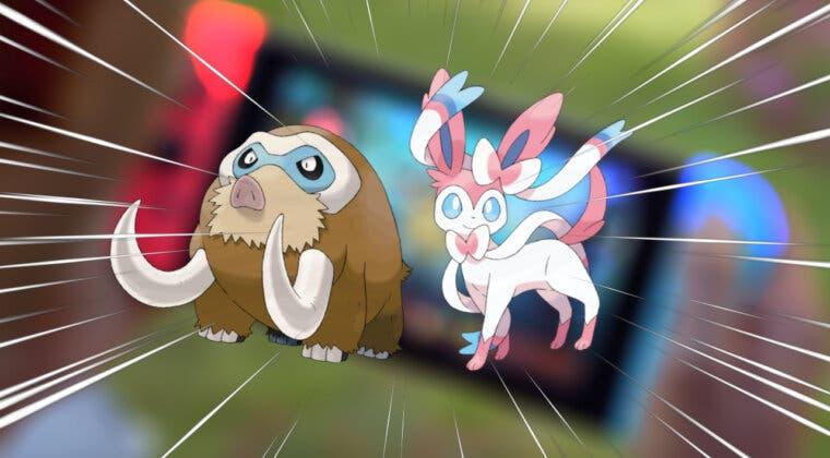 Imagen de Pokémon UNITE anuncia a Mamoswine y Sylveon como sus próximos personajes; así son en el juego