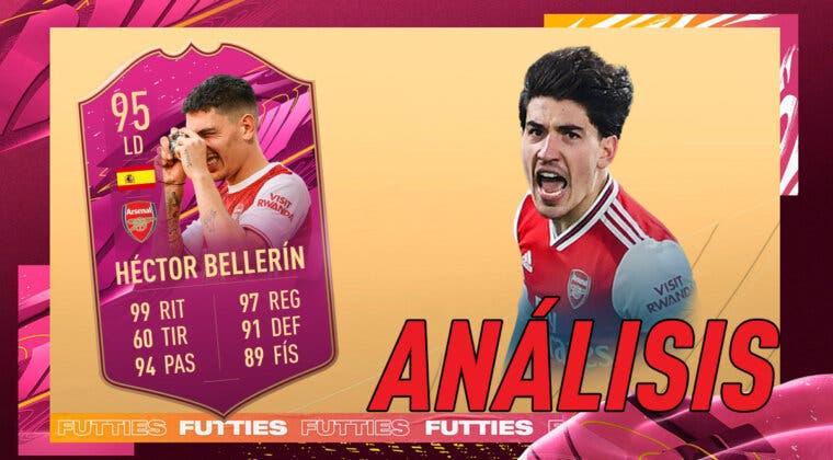 Imagen de FIFA 21: análisis de Bellerín FUTTIES gratuito. ¿El mejor LD de España y Premier League?
