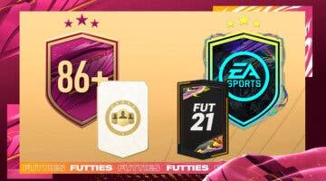 """Imagen de FIFA 21: ¿Merecen la pena los SBC's """"Elección de jugador 86+"""" y """"Desafío futuras estrellas""""?"""