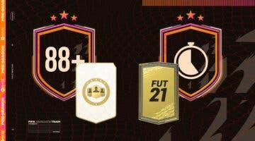 """Imagen de FIFA 21: ¿Merecen la pena los SBC's """"Elección de jugador 88+"""" y """"Calentamiento I - Des. 2""""?"""