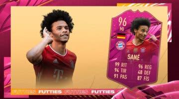 Imagen de FIFA 21: ¿Merece la pena Leroy Sané FUTTIES? + Solución del SBC