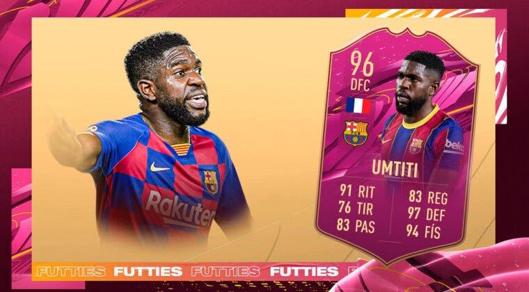 Imagen de FIFA 21: ¿Merece la pena Samuel Umtiti FUTTIES? + Solución del SBC