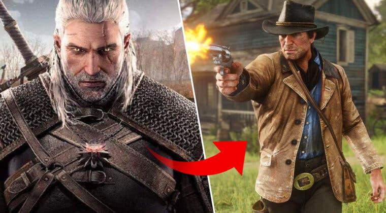 Imagen de ¿Alguna vez imaginaste a Geralt en Red Dead Redemption 2? Este fan sí y el resultado es muy curioso