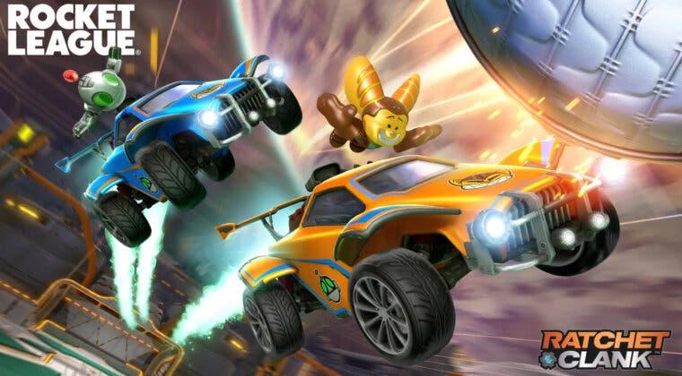 Imagen de Rocket League anuncia y fecha mejoras técnicas en PS5 y un pack de Ratchet & Clank