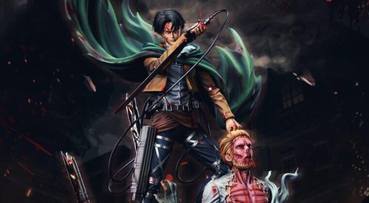 Imagen de Shingeki no Kyojin: así es la nueva y detallada figura protagonizada por Levi y Zeke