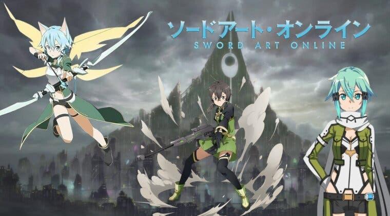 Imagen de Sinon (Sword Art Online) cobra vida con estos brutales cosplays de GGO, ALO y OS