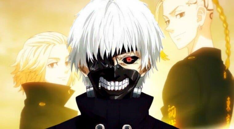 Imagen de El autor de Tokyo Ghoul dibuja a los personajes de Tokyo Revengers con su oscuro toque