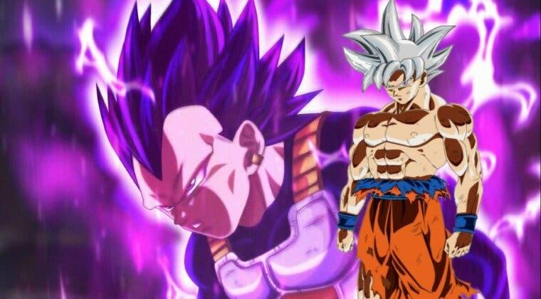 Imagen de Vegeta es más fuerte que Goku en Dragon Ball Super por primera vez en mucho tiempo
